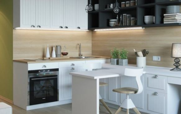 Modern Small Kitchens: How to Optimize Space (4 Ideas)
